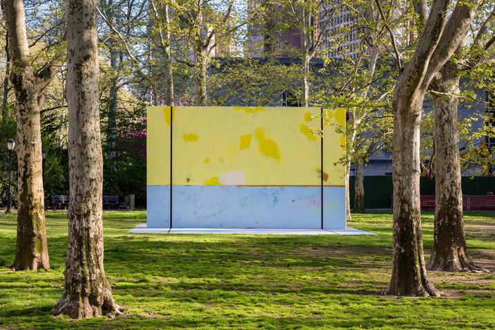 Harold Ancart's Playable Art Installed at Cadman Plaza Park