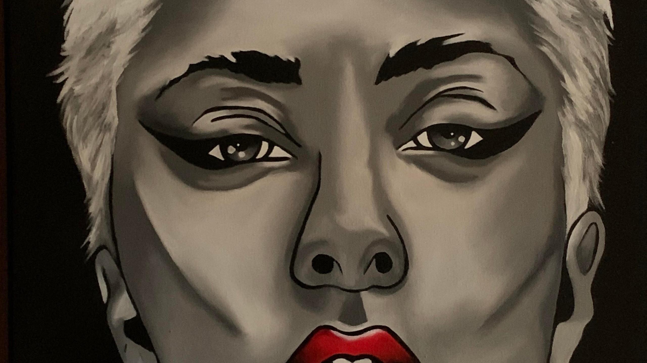 Gaga, 16X20, oil on canvas, courtesy of the artist