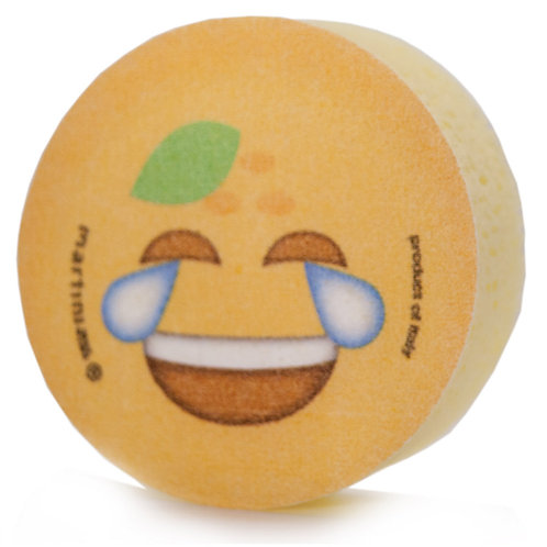 Eponge Emoticône Orange