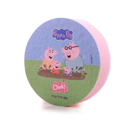 Eponge Peppa Pig & sa famille. Collection Peppa Pig