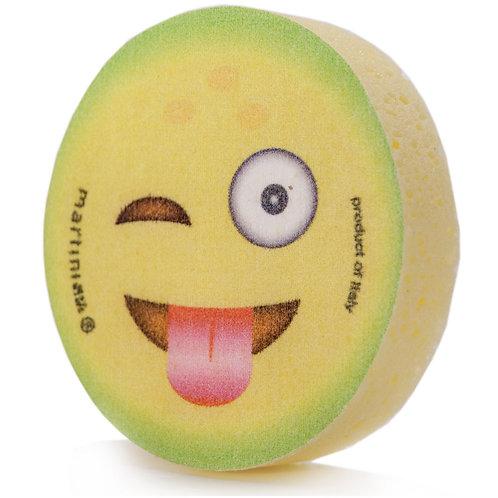 Eponge Emoticône Citron. Collection Emoticônes Fruits
