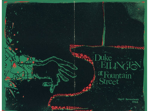 Duke Ellington Poster (limited reprint, 1 of 100)