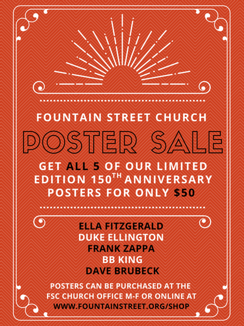 $50 Poster Pack (all 5 limited edition FSC posters)