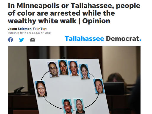 Op-Ed: In Minneapolis or Tallahassee, people of color are arrested while the wealthy white walk