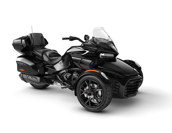 2020 Spyder F3 Limited Dark Steel Black