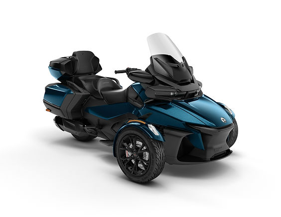 2020 Spyder RT Limited Dark Petrol Metal