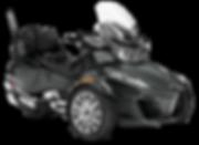 2018 Spyder RT Limited Chrome Asphalt Gr