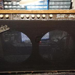 Fender 1960 twin amp