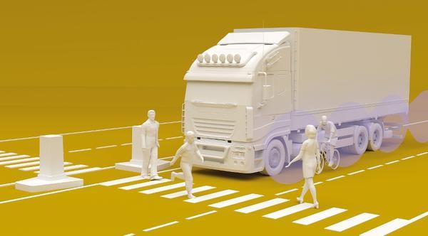 Großinvestition von Stadttochter: Wesel setzt auf Lkw-Technik gegen Unfälle