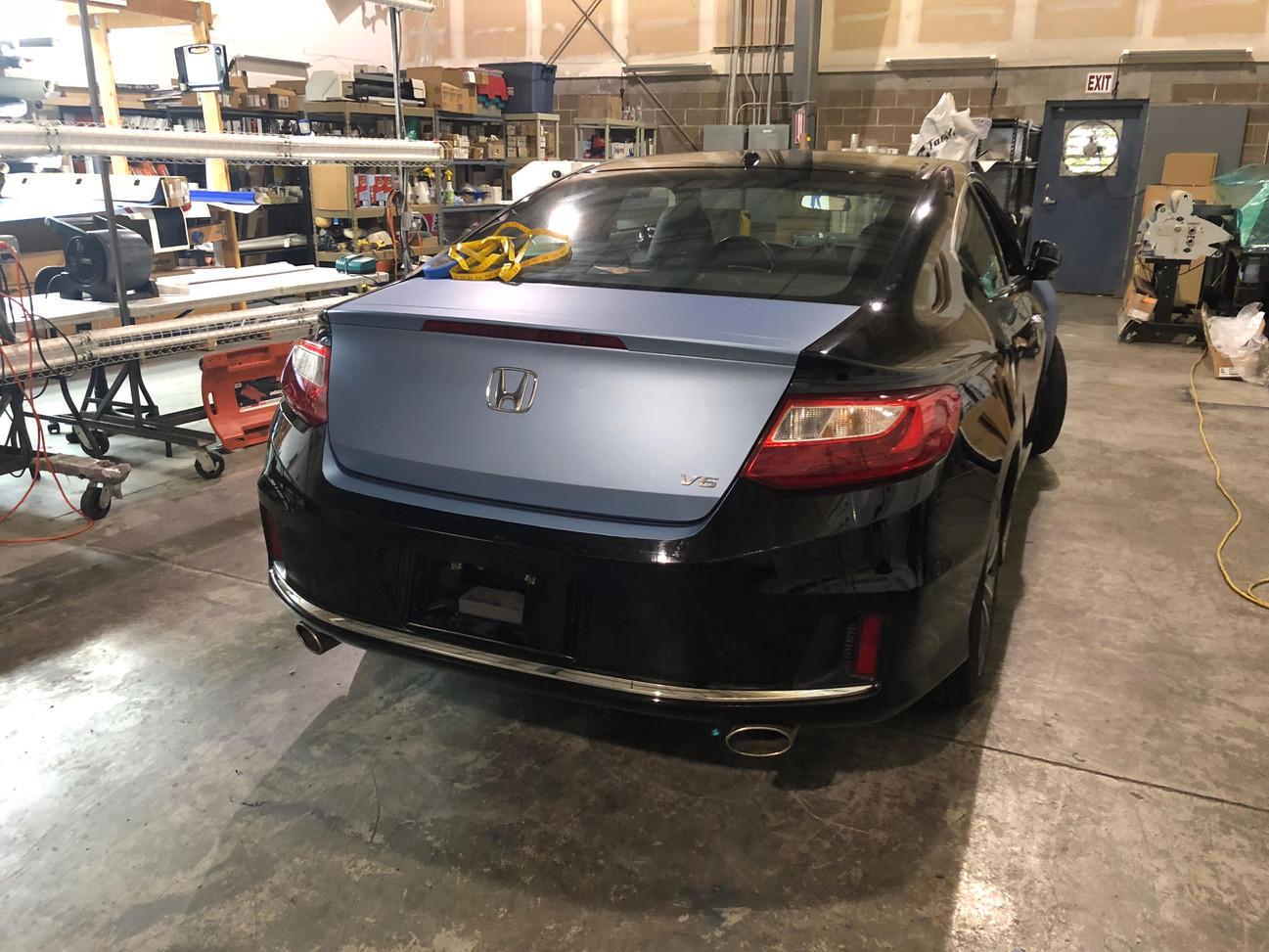 Honda During Complete Color Change Trunk