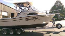 Boat Graphics Happy Hooker