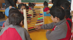 Child with abacus 1