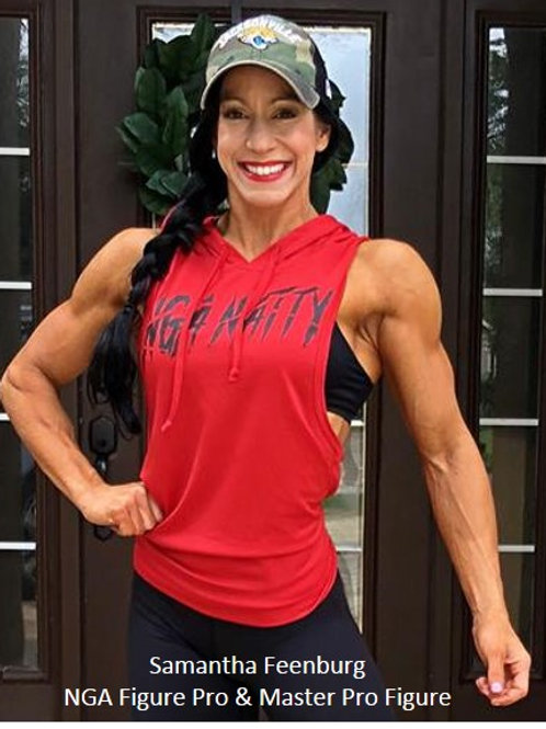 Hooded Muscle Tank Womens