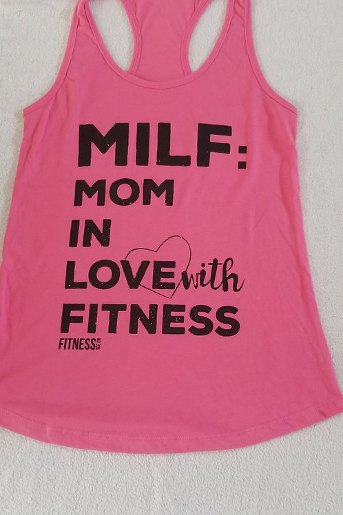MILF Mommy In Love with Fitness
