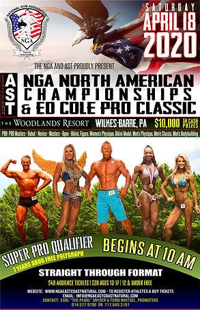 2020 NGA North American Chamnpionships &