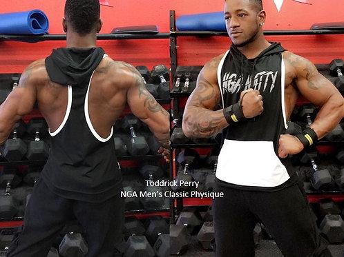 Hooded Muscle Tank Mens