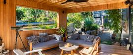 Avalon outdoor entertaining and garden
