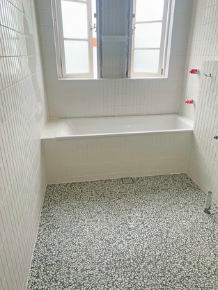 Bellevue Hill bathroom tiling