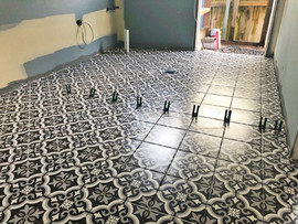 Manly Vale laundry tiles