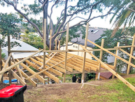 Manly Vale staircase framing