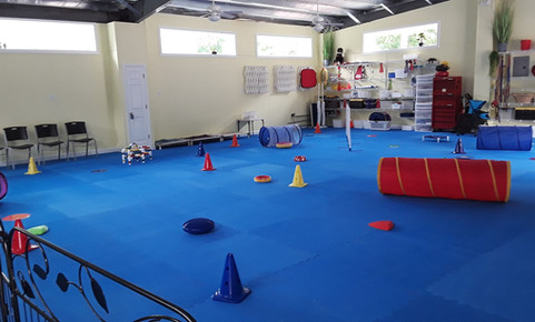 flooring ready for classes