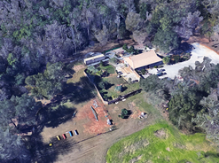 Aerial view of Camp sunpaws