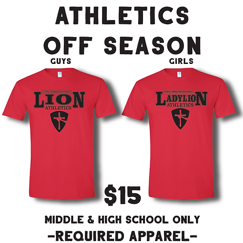 Required: Lions PE Shirt