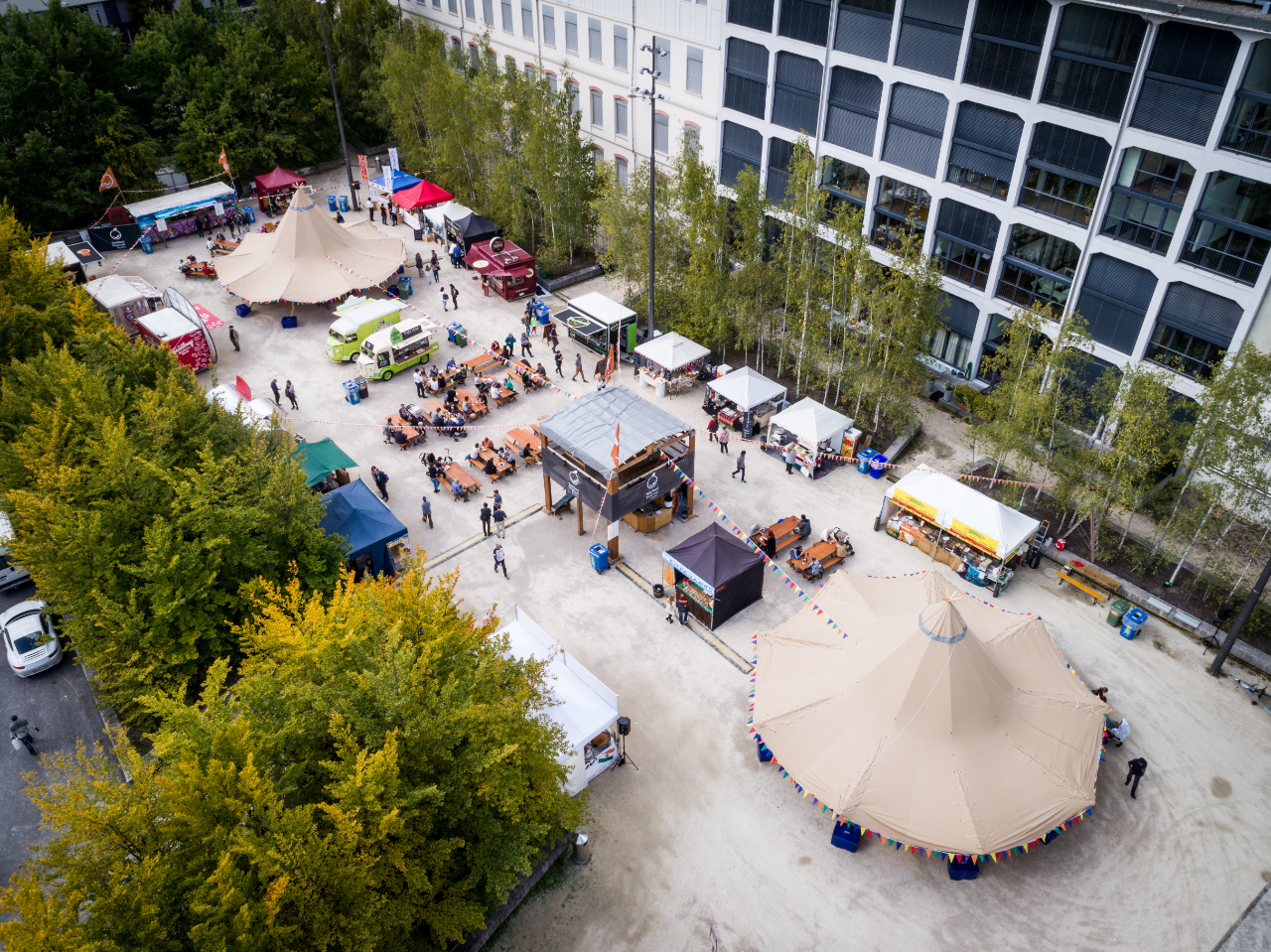 Event-Tipi am Soulfood Festival 2018