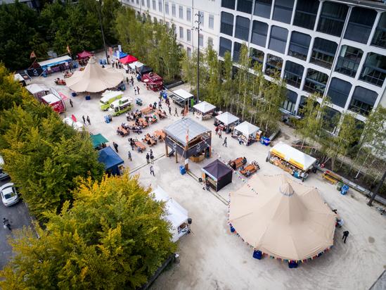 Event-Tipi am Soulfood Festival 2018