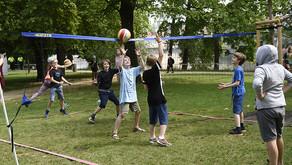 Nadace Pražské děti na dětském sportovním dni na Střeleckém ostrově
