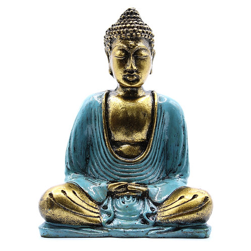 Teal and Gold Buddha