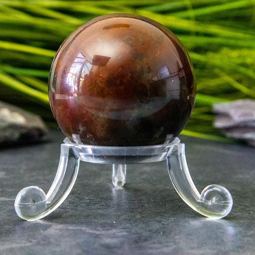 Bloodstone Sphere 40mm