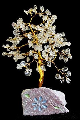 Rock Crystal Gemstone Tree
