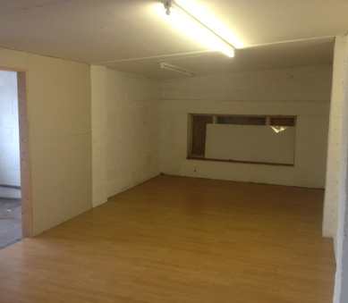 Rehearsal studio before we fitted it out