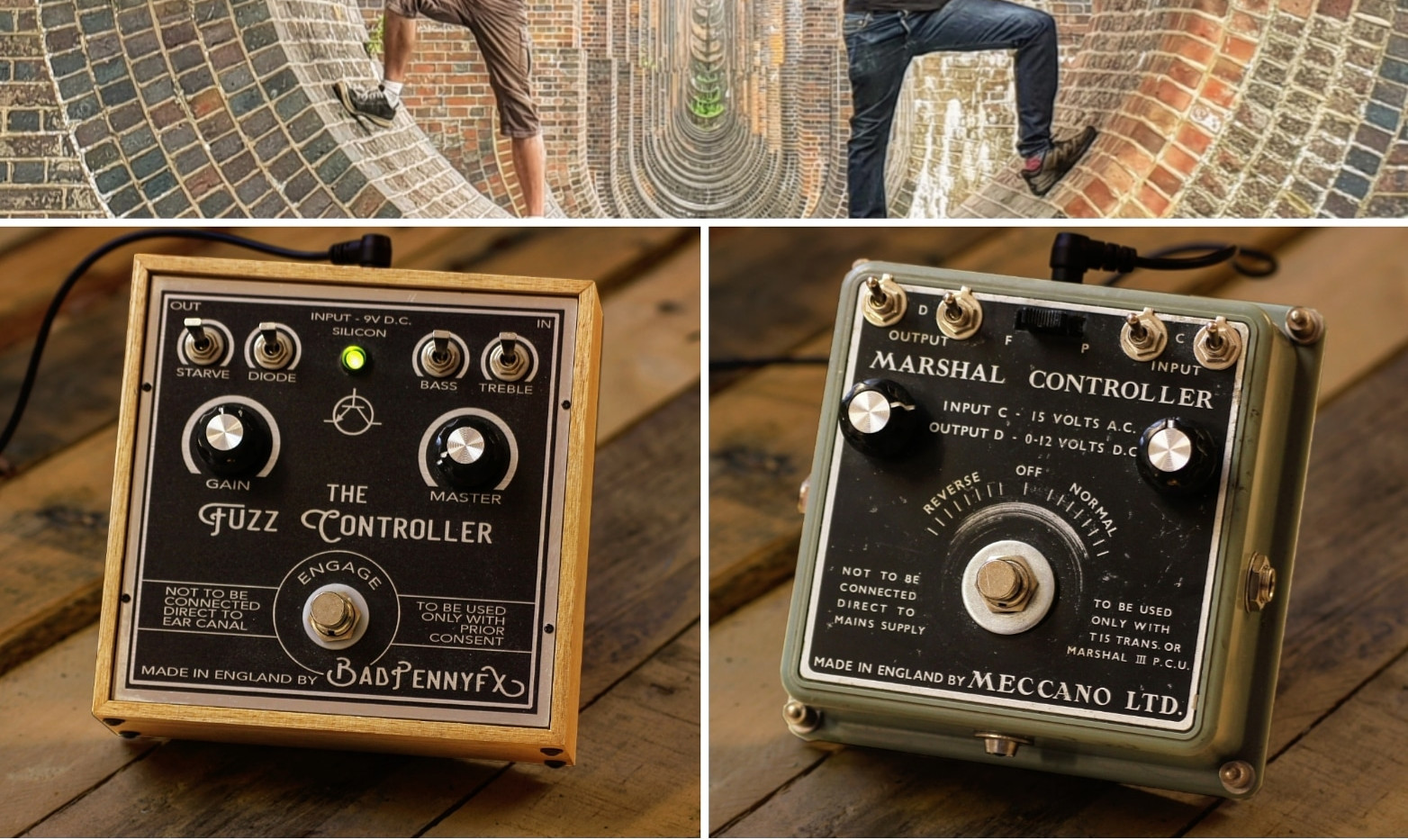When two tribes don't go to war, instead decide to build awesome guitar pedals together