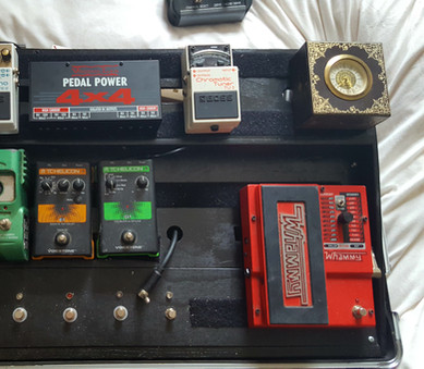 First set-up of tiered board and new Voodoo power supply
