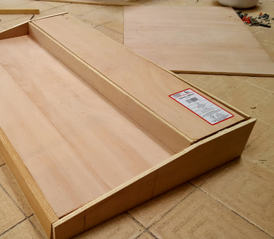 Next ridiculous tiered pedalboard with built-in looper