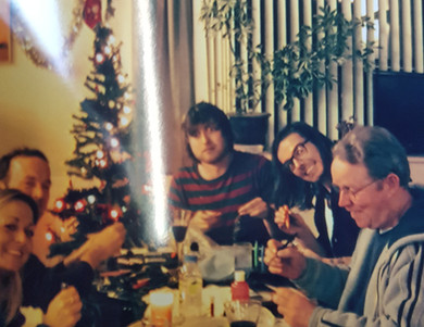Christmas in the old carehome with Sam, Phil, Nicky & Claire