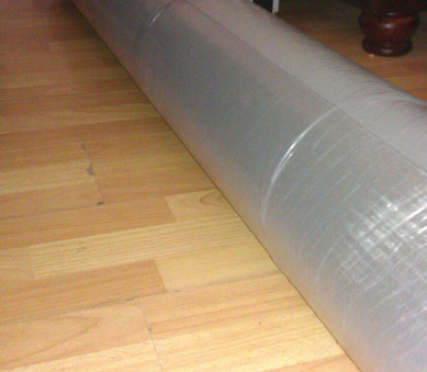 Carpet arrives