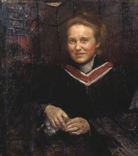 Annie Swinnerton's 1930's portrait of Dame Millicent Fawcett, President of the National Union of Women's Suffrage Societies