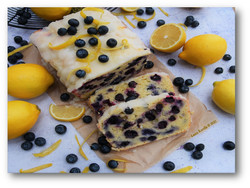 Lovely Lemon-blueberry Bread