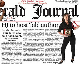 The Herald Newspaper reports Laura Kurella's Book Signing