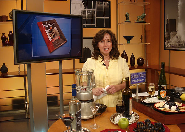 Kurella appears on WGN TV Chicago with Fabulous! #1 Desserts book