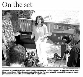 The Journal newspaper reviews Kurella's TV Show