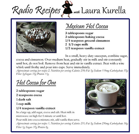 Recipes for Hot Cocoa