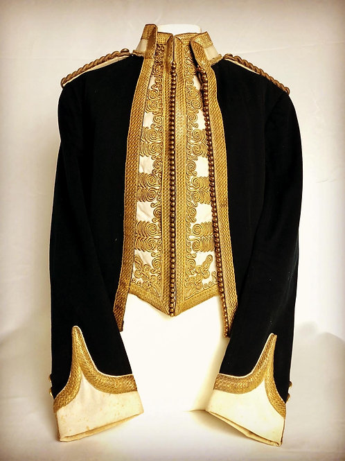 The Royal Deccan Horse Officers Mess Dress - Lt Colonel Frederick Gwatkin