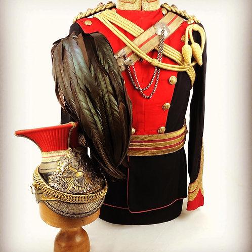 Victorian 5th Royal Irish Lancers Colonels Uniform