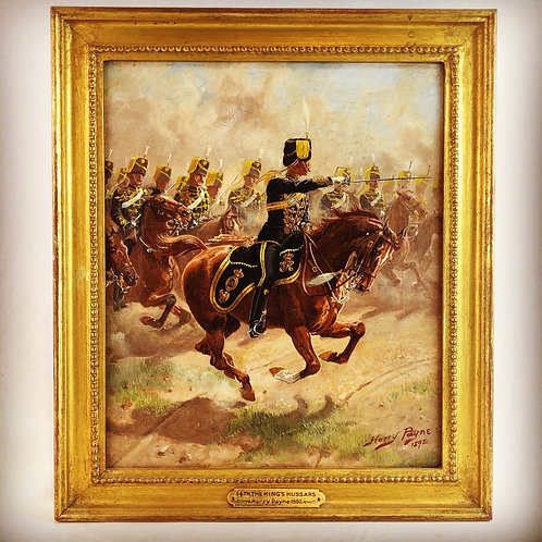 """Original Harry Payne 14th King's Hussars """"The Charge"""""""