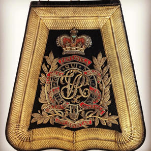 1850 4th Light Dragoons Officers Sabretache