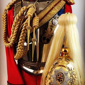 Victorian Life Guards Officers Uniform